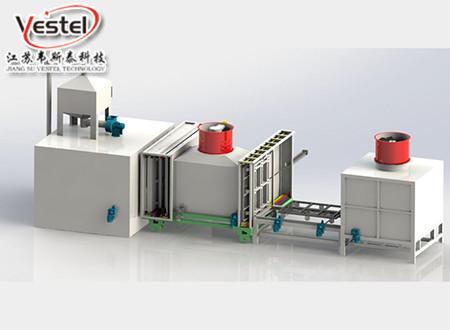 真空净化氮气保护铝钎焊炉