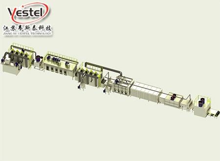 连续式氮气保护铝钎焊炉